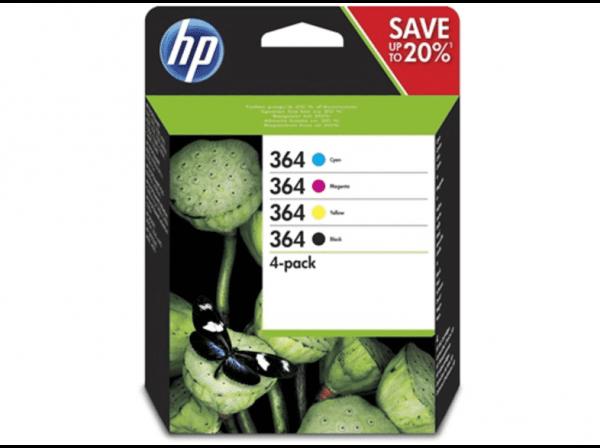 HP 364 C/M/Y/BK Multipack