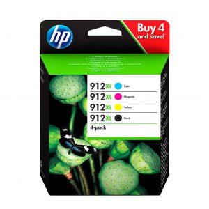 HP 912 C/M/Y/BK XL Multipack