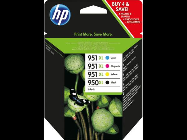 HP 950 / 951 C/M/Y/BK XL Multipack