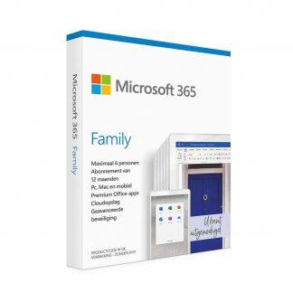 Microsoft 365 Family NL - 1 jaar