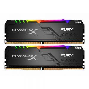 Kingston 16GB HyperX Fury CL16 RGB Heatsink 2x8GB