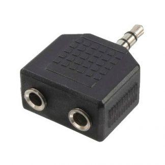 LogiLink 3,5 mini jack 1x 2x 3,5 mini jack Adapter