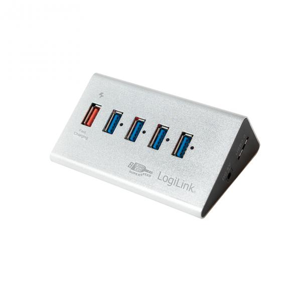 LogiLink 5 Port Hub, USB 3.0