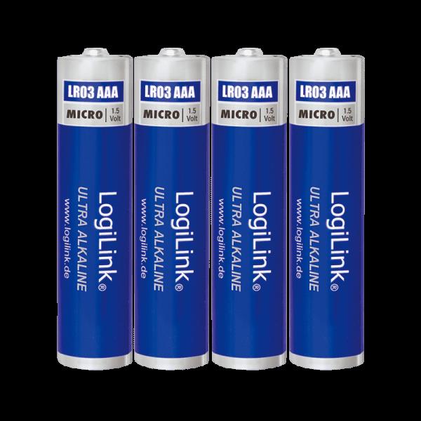 LogiLink Ultra Power batterij AA blister 4-stuks