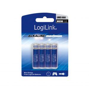 LogiLink Ultra Power batterij AAA blister 4-stuks